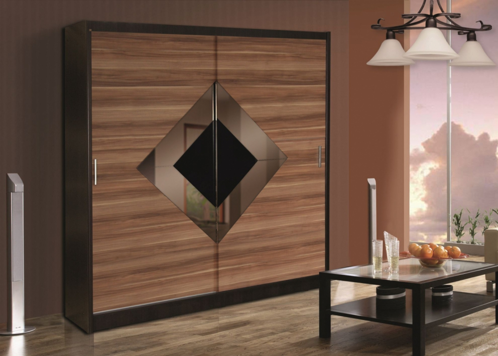 Montana 8 - Wenge and plum wardrobe