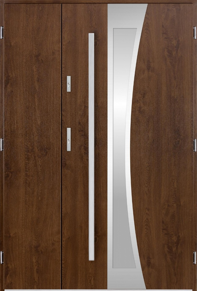 Gemini Uno - modern entrance door