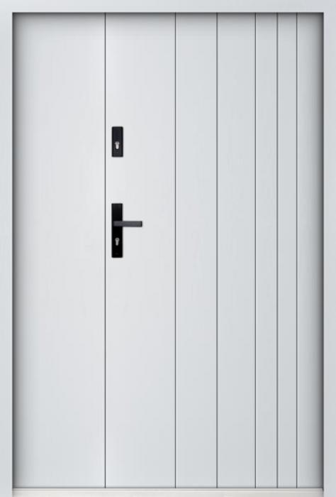 Sta Gutenberg Uno - exterior door with side panel