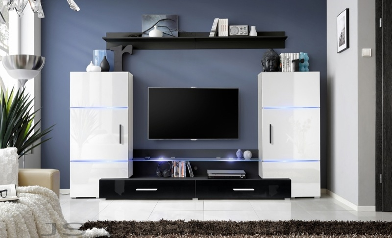 Impres 4 - white contemporary tv stands