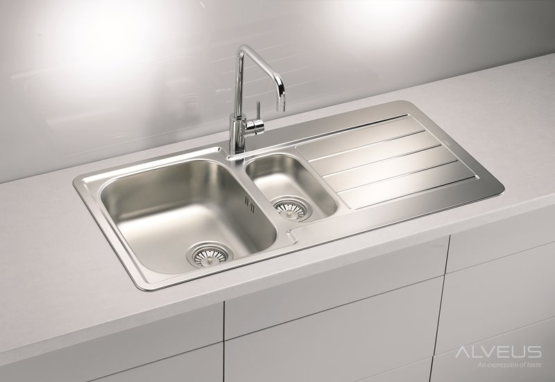 AS-Laredo 10 kitchen stainless steel sinks