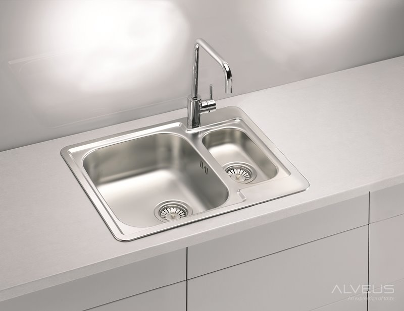 AS-Laredo 50 steel kitchen sink