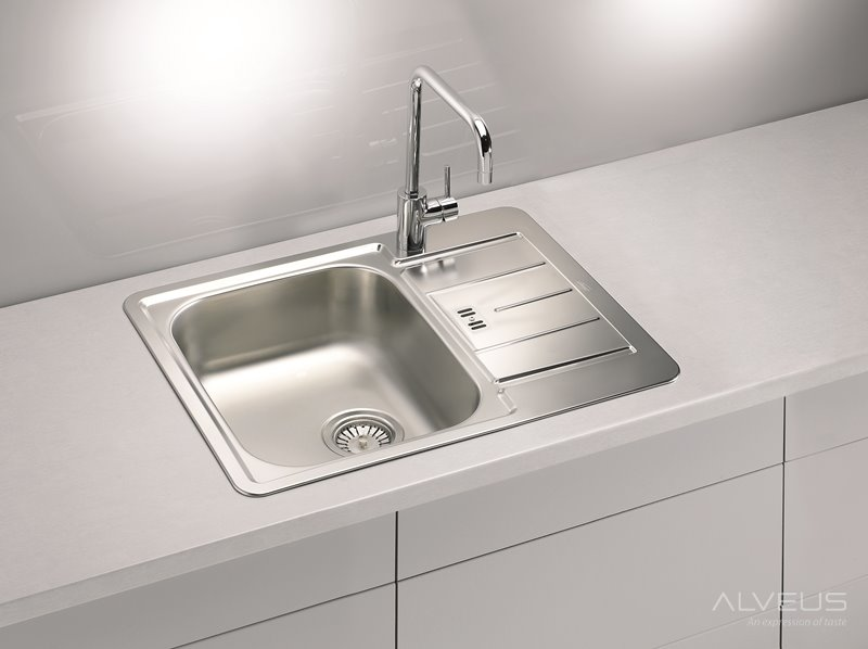 AS-Laredo 60 kitchen stainless steel sinks