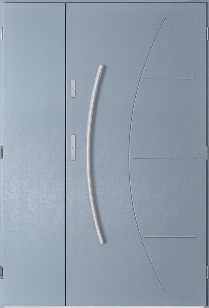 Linx Uno - double steel entry door