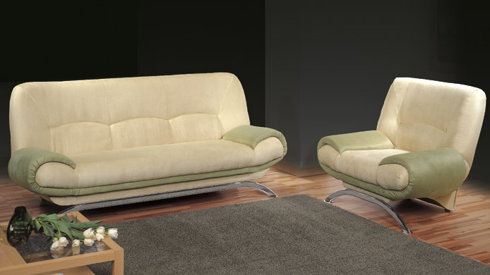 Pilo - Fabric modern sofa