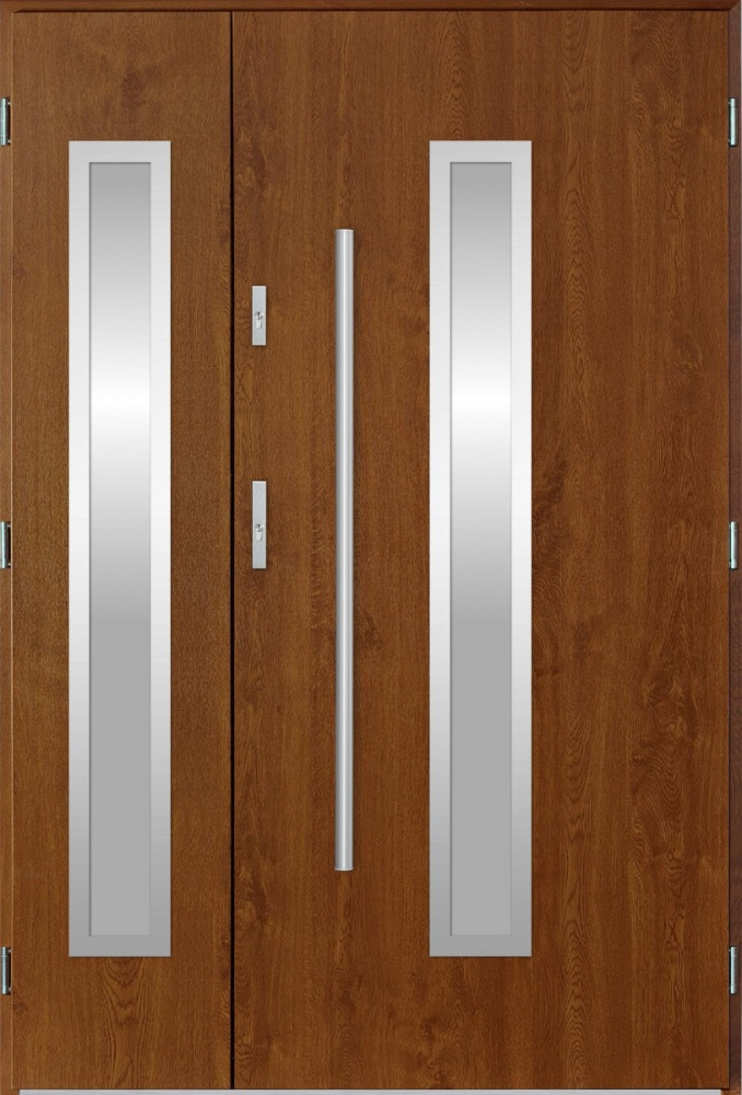 Magellan Duo - exterior double entry door