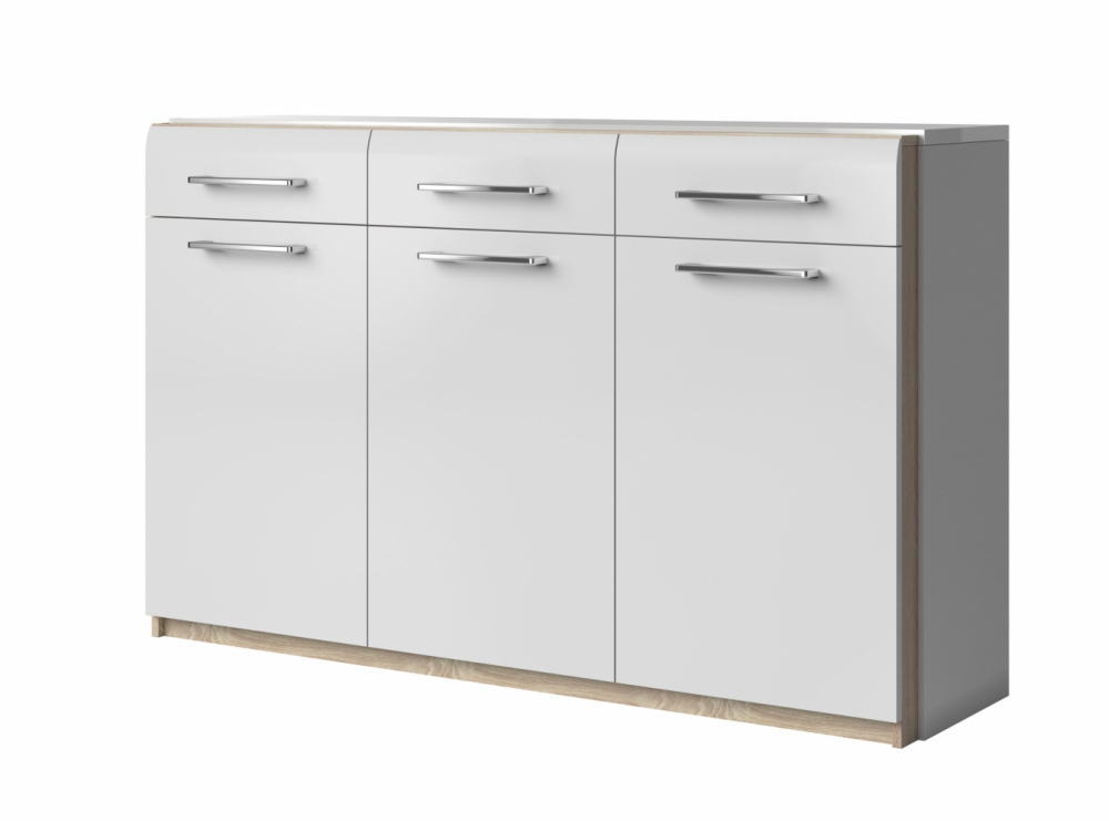 MAGNUS TYP43 - white chest of drawers