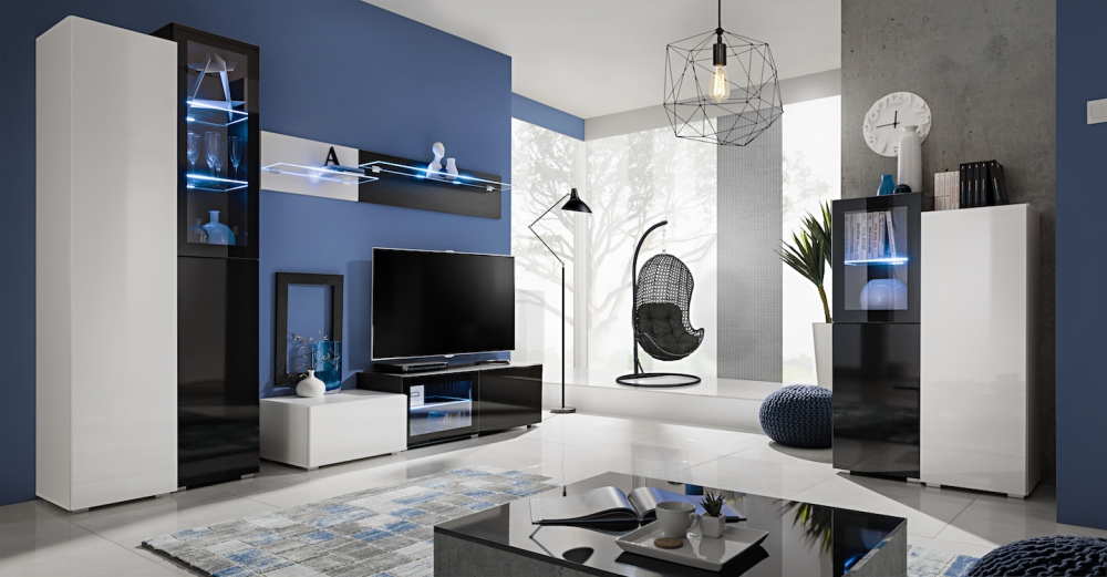 ABW Stamford - modern entertainment center