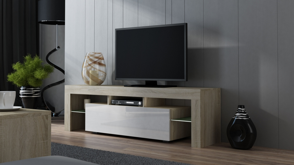 Milano 160 - oak sonoma tv media stand