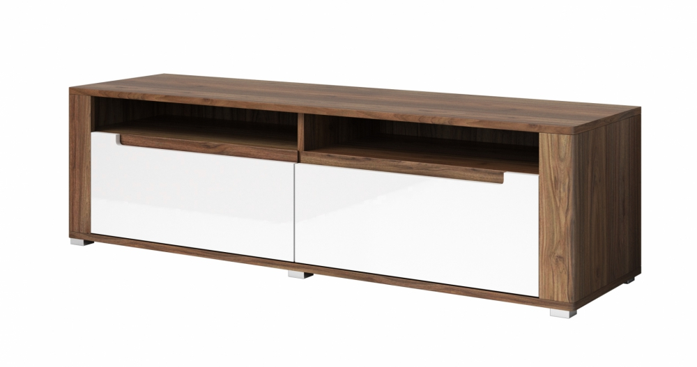 Neapoli TYP39 - walnut tv media stand