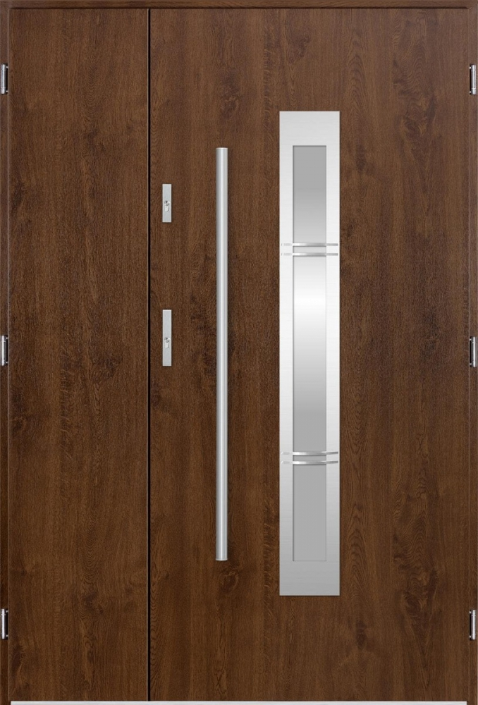 Newton 3D Uno - metal double door