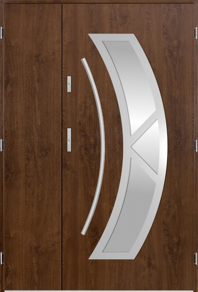 Orion Uno - high quality double front entry door