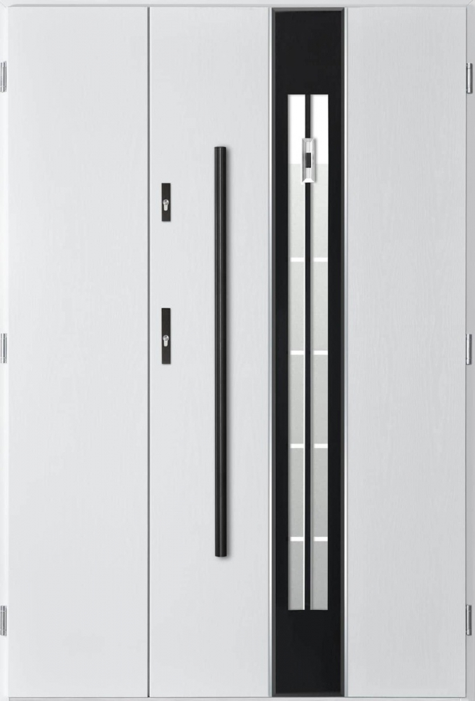 Pascal 3D Uno - contemporary double front door
