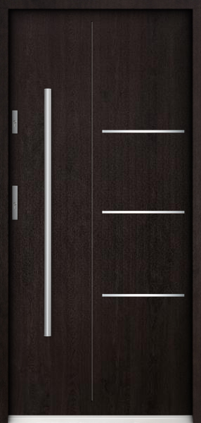 Pires - contemporary single front doors