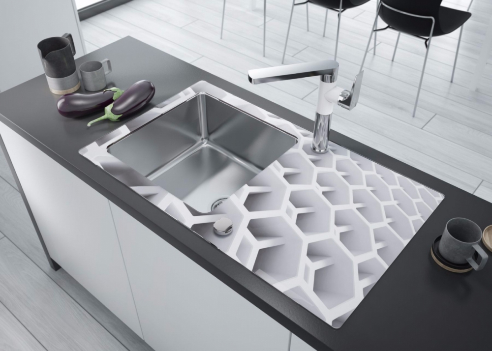 DE-Pass 50 glass kitchen sinks for sale