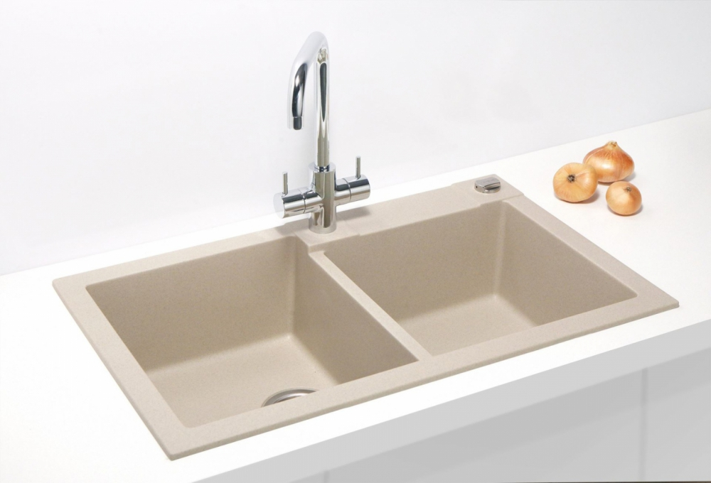 AS-Reno 90 double sinks for kitchen