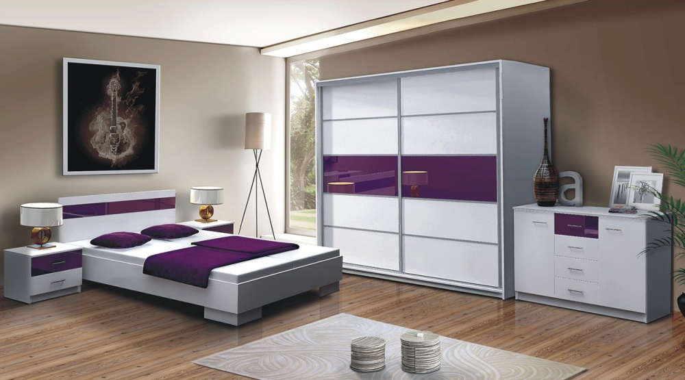 Santana - Modern design Bedroom set