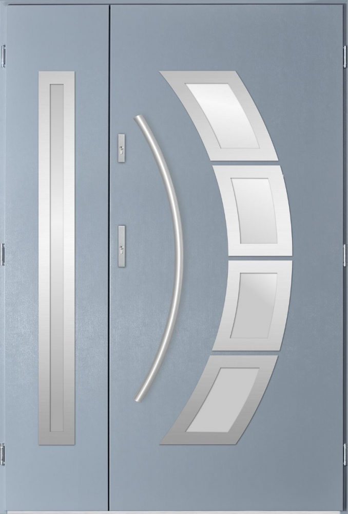 Taurus Duo - double front entry door