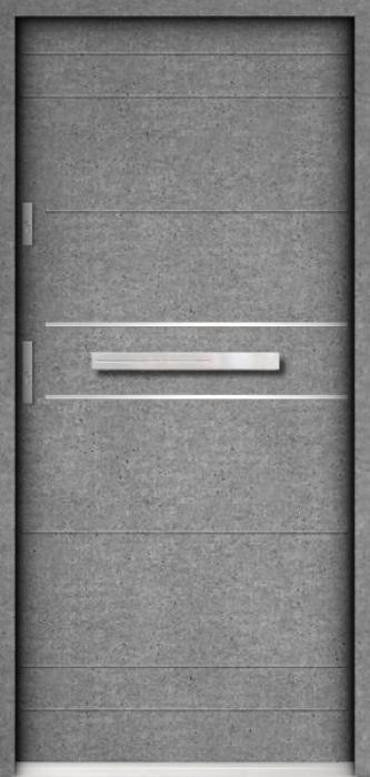 Sta Tesla - contemporary front door