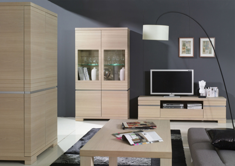 Topaz 3a - living room wall units