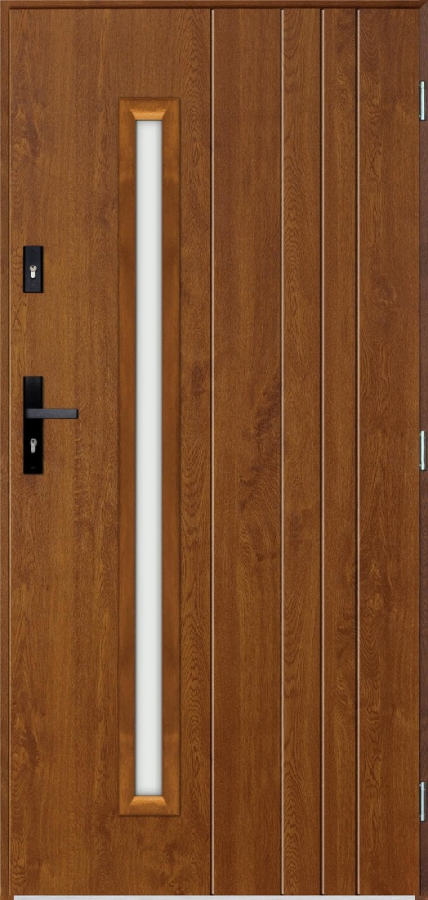 Vasco - solid single front door