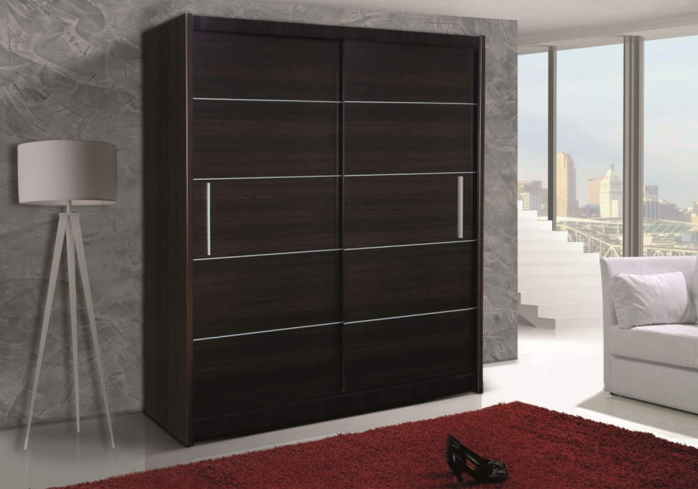 Telford IV - slider door wardrobe