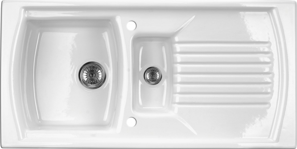 DE-Lusitano porcelain undermount kitchen sink