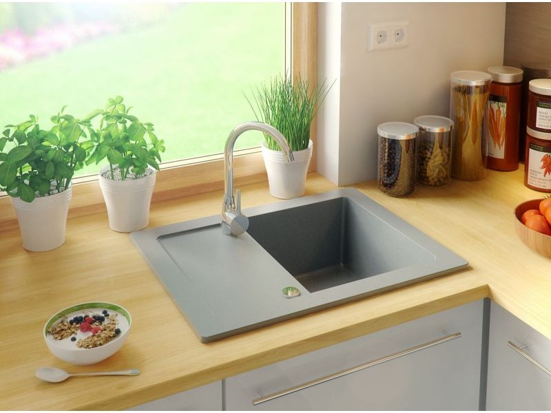 PN-Ibis granite kitchen sinks