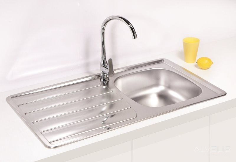 AS-Zool 30 stainless steel undermount sink