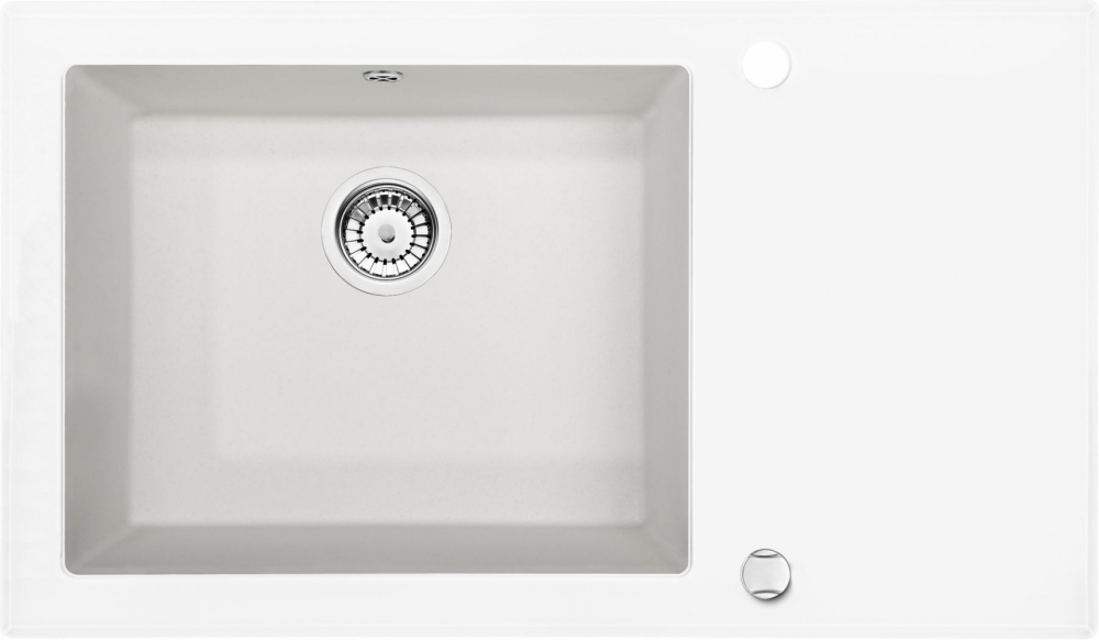 DE-Capella 10 glass kitchen sinks