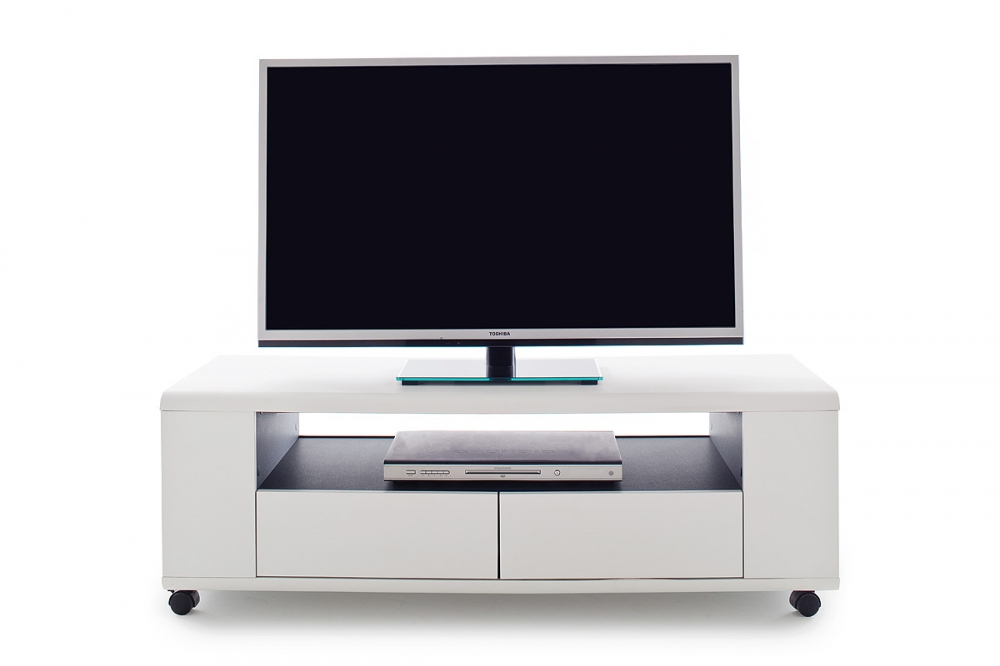 Details About Chelsea Living Room Small White Tv Stand Tall With Shelve