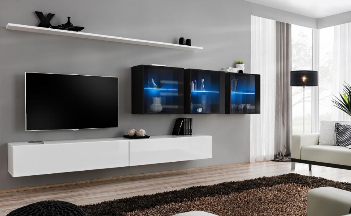 Beau Shift 17   Modern Tv Wall Unit