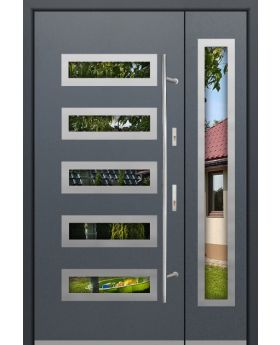 Fargo 20DB - modern front door with side panels