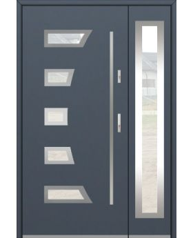 Fargo 23A DB - stainless steel double door