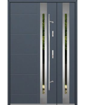 Fargo 25C DB - front door design with side panel
