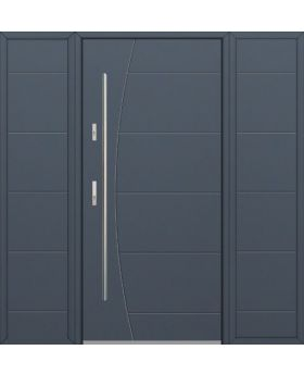 Fargo 26G T - front door with two side panels