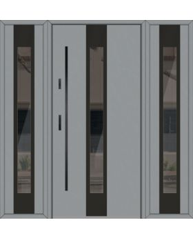 Fargo 30 T - modern front door + 2 side panels