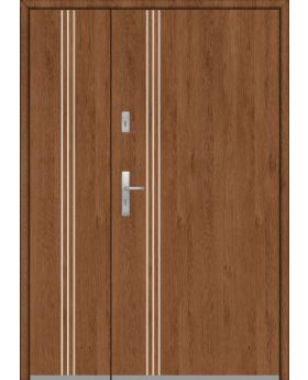 Fargo 32A DB - entrance door with side panels