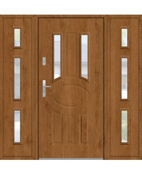 Fargo 33A T - front door with 2 side panels