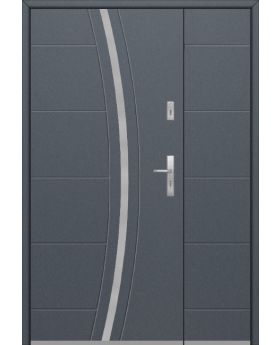 Fargo 40 DB - front door with side panel