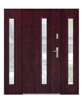 Fargo 42 T - modern front door + 2 side panels