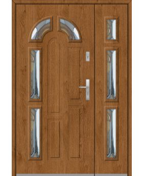 Fargo 9DB - front doors with side panels