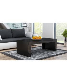 Modern living room coffee table mirrored oval circle