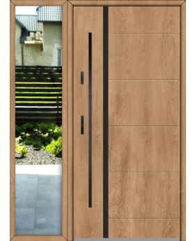 custom configuration - Fargo door with left sidelight (view from the outside)