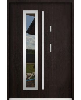 Sta Hevelius Uno - home front entry door with side panel