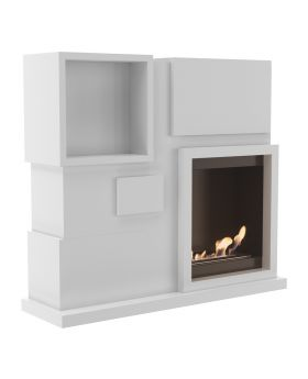 Jackson - fireplace unit