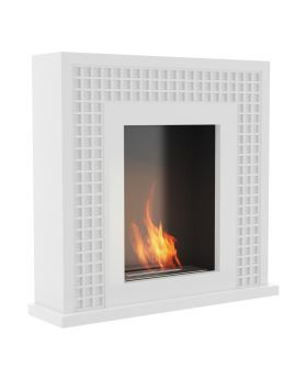 Oregon - modern fireplace