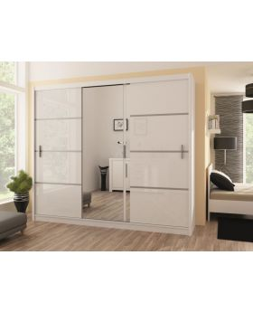 Vezon 250 - white or oak wardrobe