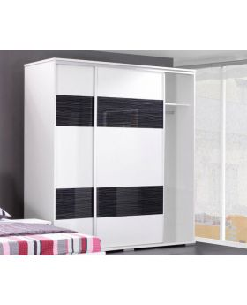 MARSIL 255 - white high quality MDF board armoire