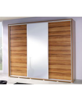 VIVIA 255 - Plum sliding door armoire